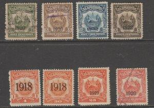 El Salvador Revenue fiscal stamp ml687 cinderella mix  better lot