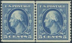 US Scott #355LP Mint, VF/XF, HR, APS