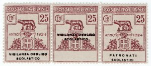 (I.B) Italy Postal : Government Department Overprints 25c
