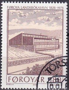 Faroe Islands #40 F-VF Used