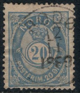 Norway #44  CV $3.50