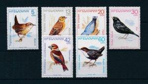 [102921] Bulgaria 1987 Birds vögel oiseaux  MNH
