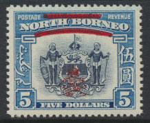 North Borneo  SG 349 SC# 237 MNH    OPT GR Crown - See scan