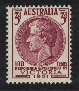 Australia Centenary of Responsible Government in Victoria 1v 3d SG#246