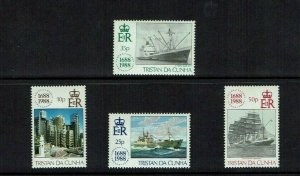 Tristan da Cunha 1988: Tercentenary of Lloyds of London, Mint set