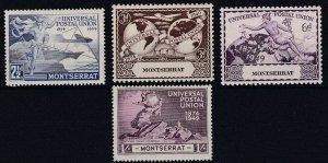 MONTSERRAT       1949  UPU  SET  MH