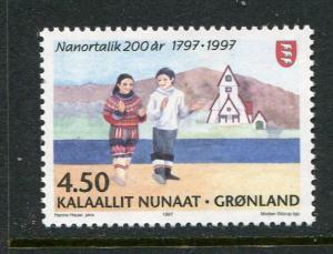 Greenland #324 Mint