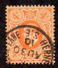 GREAT BRITIAN 144 USED SCV $12.00 BIN $3.75 ROYALTY