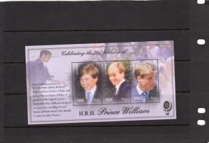Niue 21st Birthday of Prince William MNH M/s