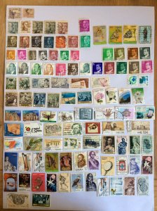 Spain 100+ stamps - Lot G