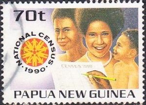 Papua New Guinea  #734  Used