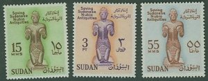 British Sudan SC# 136-8 SAving Nubia monuments set MVVLH