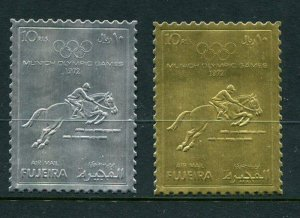 Fujeria Michel #1091-2 Olympic Foil MNH