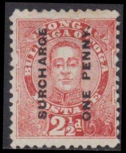 Tonga 1895 SC 34 MLH