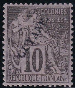 French Guiana 1892 SC 22 MLH