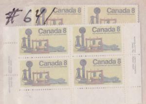 Canada - 1974 8c Telephone Centenary X 64 VF-NH #641