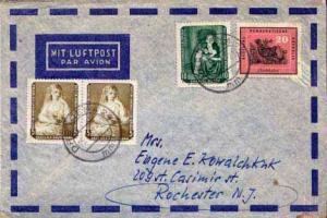 Germany D.D.R., Airmail, Birds