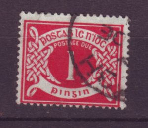 J20745 Jlstamps 1925 ireland used #j1 postage due wmk 44