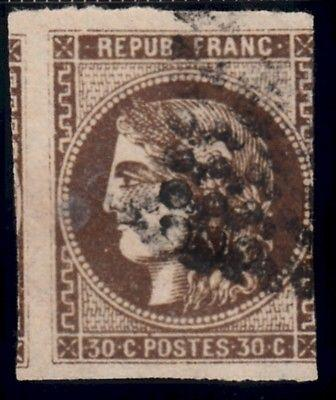 46, AVE, Used, Bordeaux Series, Losange Cancel, 100% Soun...