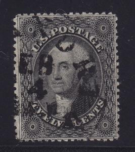 36 VF used neat cancel with nice color cv $ 350 ! see pic !