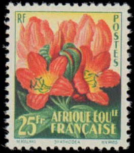 1958 French Equatorial Africa #200-201, Complete Set(2), Never Hinged