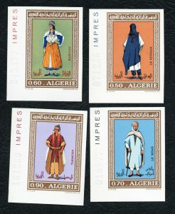 1972 - Algeria - Imperforated - Imperf - Regional Costumes - Traditional clothes