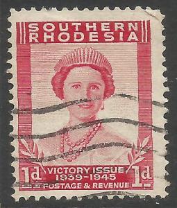 SOUTHERN RHODESIA 676 VFU P318-4