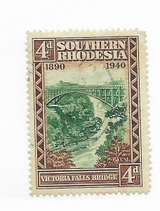 South Rhodesia #61 Used - Stamp - CAT VALUE $3.00