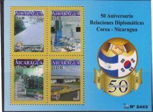 O) 2012 NICARAGUA, DIPLOMATIC RELATIONS 50TH ANNIVERSARY KOR