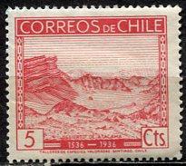 Chile 1936: Sc. # 186; **/MNH Single Stamp