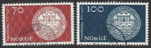 Norway #568-569 Used Full Set of 2