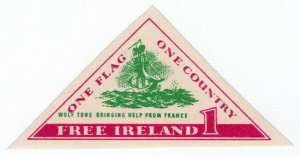(I.B) Ireland Political : One Flag, One Country (Wolf Tone)