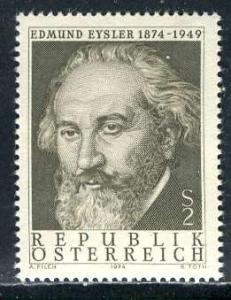 Austria 1974: Sc. # 1003; **/MNH Cpl. Set