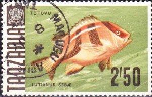 TANZANIA 1967 2/6 Multicoloured SG154 Fine Used