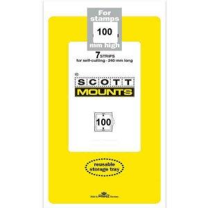 Scott Prinz 100 mm High 240mm Long Self Cutting Mounts  Clear 7 Strips