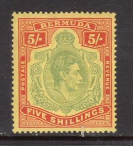 Bermuda #125a (SG #118a) Very Fine Mint Lightly Hinged