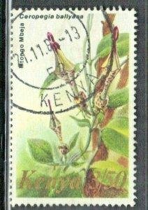 KENYA SCOTT# 257 **USED** 1983  3.50sh  FLOWERS SEE SCAN