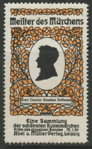 Fairy Tales Amadeus Hoffmann Cinderella Poster Stamp Reklamemarken A7P5F849