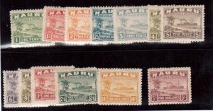 Nauru #18 - #30a Mint