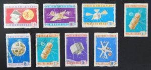 Mongolia, Space, series, 1961, (15(IR))