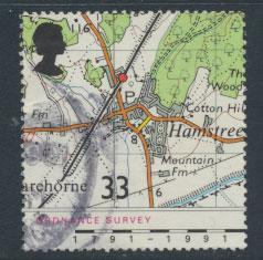 Great Britain SG 1580    Used  - Ordnance Survey