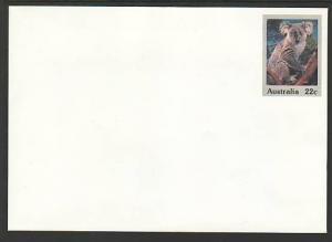 Australia Koala Unused Postal Envelope