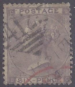 Great Britain scott #39 Used