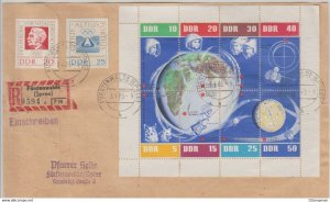 Mi: 926/33-939/40  (Dienst)on  Cover  from Germany  1963 DDR
