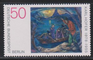 Germany,  50pf The Boat, by Karl Hofer (SC# 9N420) MNH