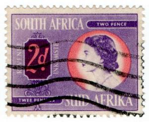 (I.B) South Africa Revenue : Duty Stamp 2d