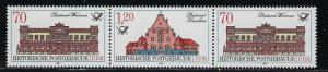 Germany DDR Scott # 2585 (2), 2586, mint nh, se-tenant, WZd704