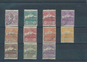 1903 San Marino, N° 34/44, Amount O Views,11 Values - Used