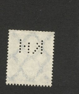 GERMANY -USED STAMP-PERFIN, PERFINS-1924..