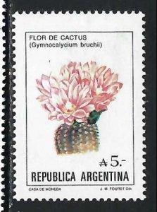 ARGENTINA 1526 MOG FLOWER Z2134